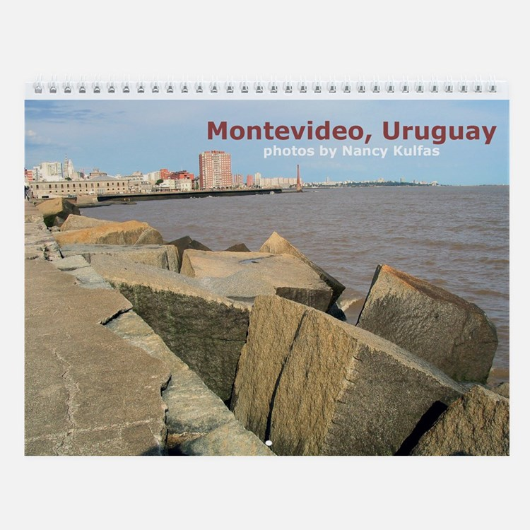 Montevideo Wall Calendar