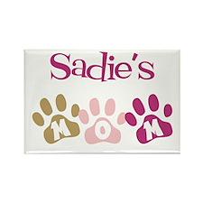 Sadie's Mom Rectangle Magnet