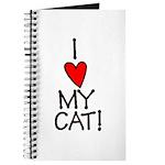 I Love My Cat! Journal