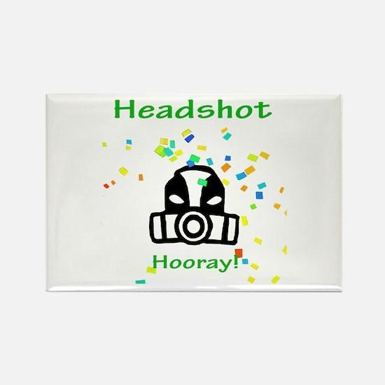 Halo Grunt Headshot Rectangle Magnet