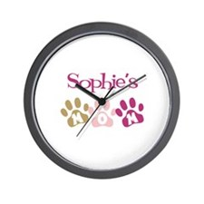 Sophie's Mom Wall Clock
