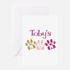 Toby's Mom Greeting Card