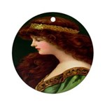 Irish Princess Ornament (Round)
