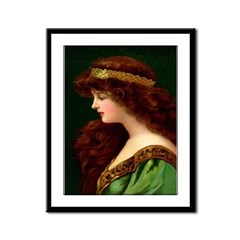 Irish Princess Framed Print