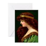 Irish Princess Greeting Cards (Pk of 20)