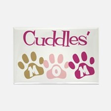 Cuddles's Mom Rectangle Magnet (10 pack)