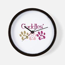 Cuddles's Mom Wall Clock