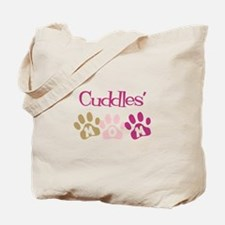 Cuddles's Mom Tote Bag