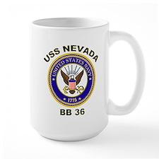 USS Nevada BB 36 Mug