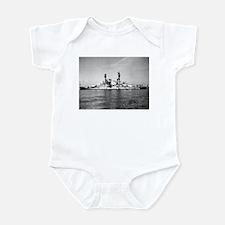 USS Nevada Ship's Image Infant Bodysuit