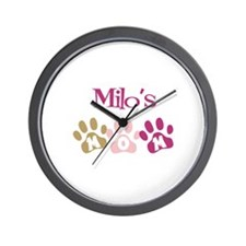Milo's Mom Wall Clock