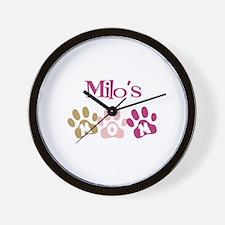 Milo's Mom Wall Clock