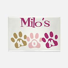 Milo's Mom Rectangle Magnet