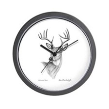 Whitetail Deer ~ Wall Clock