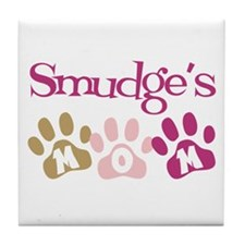 Smudge's Mom Tile Coaster