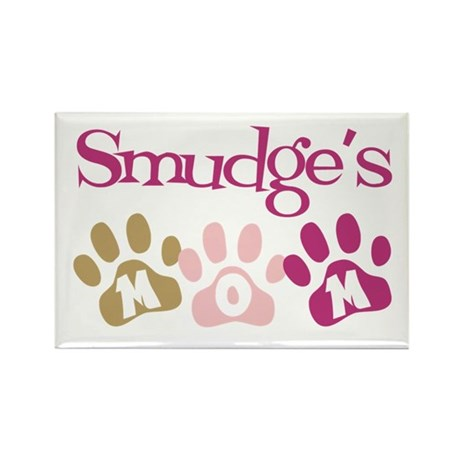 Smudge's Mom Rectangle Magnet