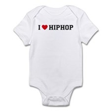 I Love HipHop Infant Bodysuit