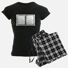 Fitness Routine Notepad Pajamas