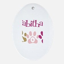 Tabitha's Mom Oval Ornament