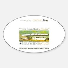 Bell System Pavilion Oval Decal