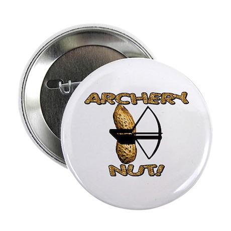 "Archery Nut! 2.25"" Button (100 pack)"
