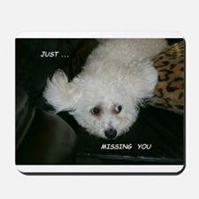 JUST MISSING YOU MOUSEPAD