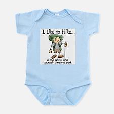I like to Hike... Infant Bodysuit