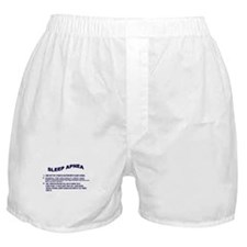 Sleep apnea Boxer Shorts