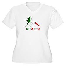 Mexican Mud Flap Girl T-Shirt