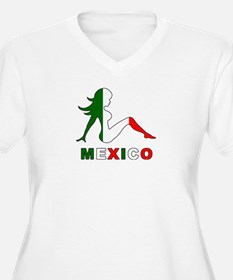 Mexican Mud Flap Girl T-Shirt