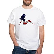 Patriotic Mud Flap Girl Shirt