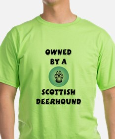 Owned by a Scottish Deerhound T-Shirt