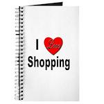 I Love Shopping for Shoppers Journal