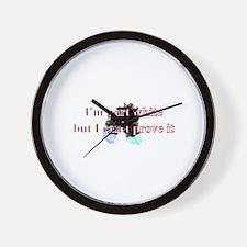 part white Wall Clock