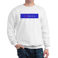 I Love America Sweatshirt