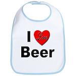 I Love Beer for Beer Drinkers Bib
