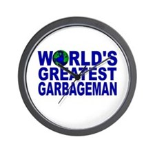 World's Greatest Garbageman Wall Clock