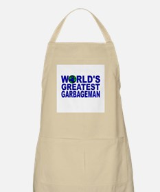 World's Greatest Garbageman BBQ Apron