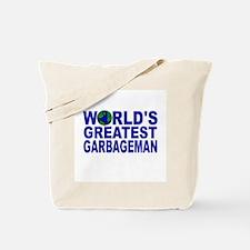 World's Greatest Garbageman Tote Bag