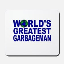 World's Greatest Garbageman Mousepad