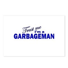 Trust Me I'm a Garbageman Postcards (Package of 8)