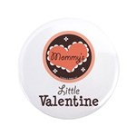 Pink Brown Mommy's Little Valentine 3.5