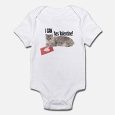 I CAN Has Valentine! Lolcat Infant Bodysuit