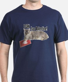 I CAN Has Valentine! Lolcat T-Shirt