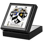 Alexander Family Crest Keepsake Box
