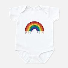 Melting Rainbow Infant Bodysuit