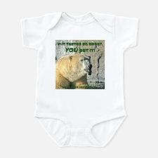 "Polar Bear ""Protest"" Infant Bodysuit"