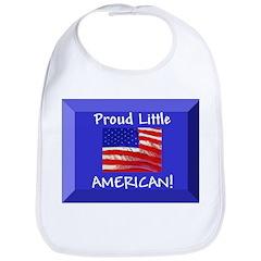Proud Little American Bib