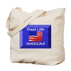 Proud Little American Tote Bag