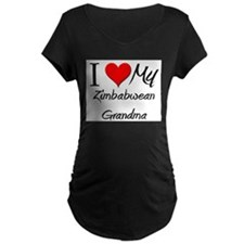 I Heart My Zimbabwean Grandma T-Shirt